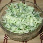 Овощной салат с медовой заправкой