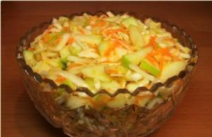 Салат с морковью и медом