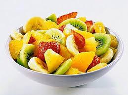 Салат фруктовый с медом