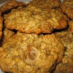 Медово-овсяное печенье