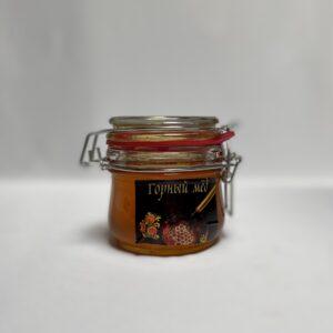 Горный мед в бугельной банке