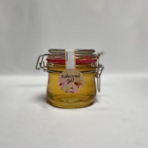 Акациевый мед в бугельной банке